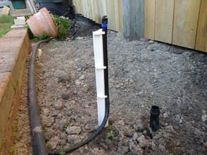 Watering hose peg