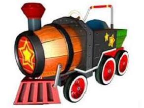 MKDD Barrel Train