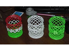 Customizable Pen Holder 2