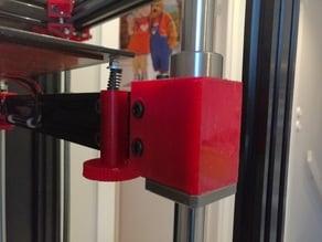 Bed adjustment knob - V-slot