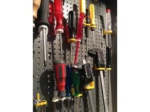 Lochwand/Werkzeugwand Einsätze (passend zb für Hornbach)
