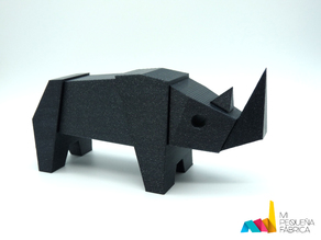 Rhino Magnetic Toy