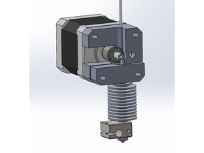 direct extruder - mk7 gear - E3D v6 - 1.75 filament