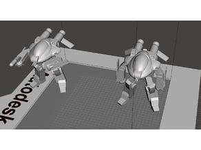 Robotech UEG Armies of the Southern Cross TASC LOGAN Battloid set 2
