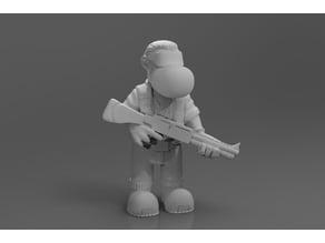 Fanhunter shotgun