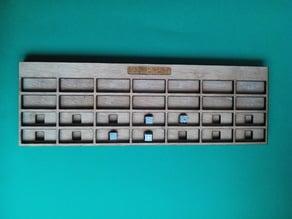 tableau de conversion braille 1 chiffre par colonne