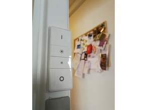 Philips Hue Dimmer Switch Backplate - Narrow
