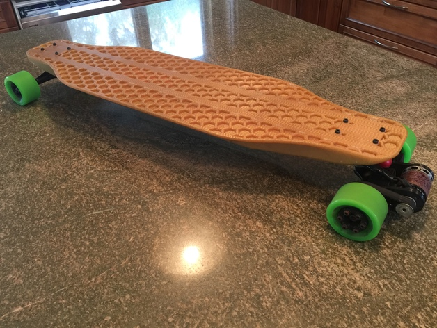 Diy Electric Longboard 3d Models Thingiverse
