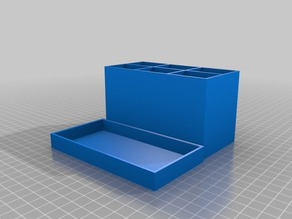 My Customized Adjustable Tackle Box Tray and Lid