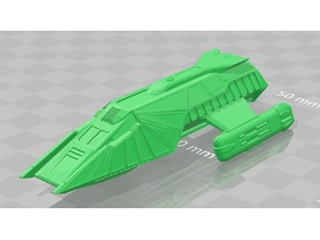 Klingon Shuttlecraft (Kitbashed)