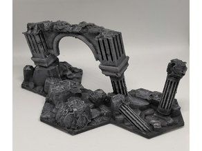 Warhammer Underworlds - Blocking Hex Terrain (3 hex)