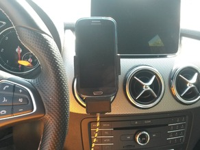 Mobile holder for Samsung S3 NEO and Mercedes B Class
