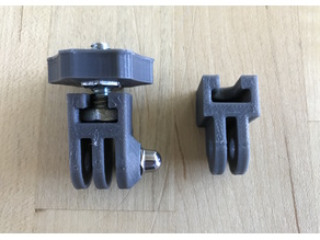 GoPro to tripod mount adaptor