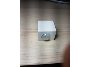 case for wemos d1 with power shield and pir sensor