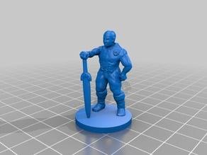 DesktopHero Waiting Warrior (Dungeon Twister Original proxy)