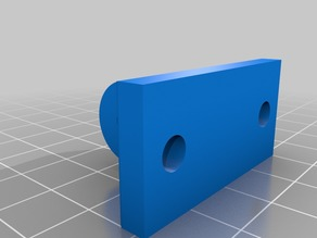 SmartiPi Touch Mount (For 2020 V-Slot Extrusion)