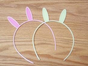Bunny Ears Hair Band
