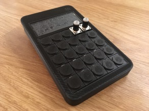 Pocket Operator Case (OP-1 Style Keypad)