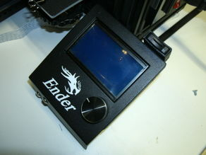 Ender 3 LCD cover and Micro SD Holder