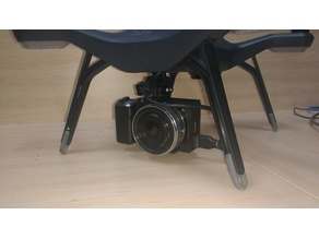Sony NEX-5 mount for 3DR Solo