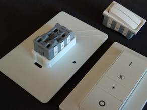 Philips Hue Dimmer Switch EURO adapter + Eaton switch