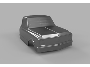 3D Scan of Pro-Line 72 Chevy Pickup Cab