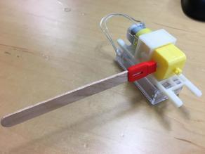 Stickbotiks: Ice-cream stick connector for TT motor