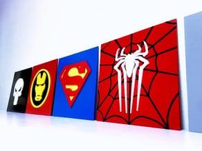 Avengers and Superhero emblems - Critter Hitters