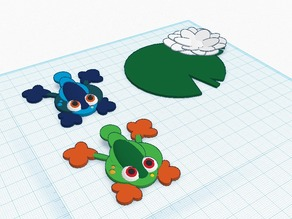 Frog Flipper; Lily Pad Game - work in progress