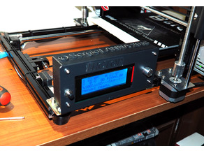 Display cover for Hictop 3D printer HIC-3DP17