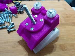 The qInch Project : Rotate Base Clamp