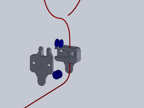 Improved filament feeder for HICTOP 3d printer with filament monitor switch