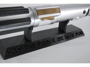 light saber stand