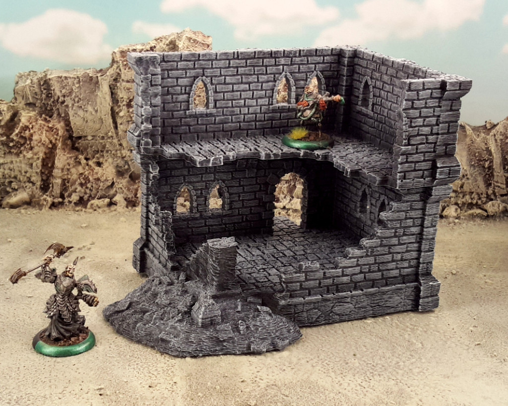 Ulvheim building and ruins - A by Terrain4Print - Thingiverse