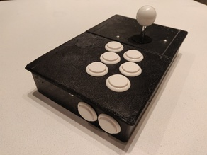 Full Size Arcade Stick.  Supports Sanwa Parts