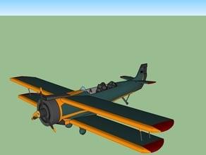 Open Biplane