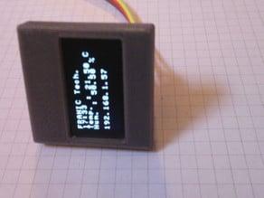 Holder for OLED display SSD1306