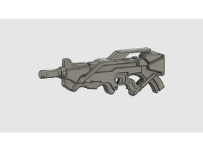 Infinity inspired Aleph combi rifle