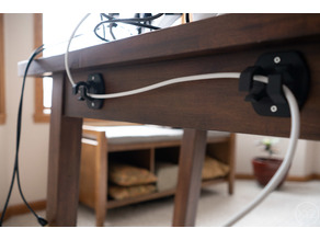 Desk Cable Management Routing Jaws