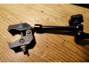 clamp camera for magic arm