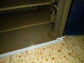 Network Cabinet - Glass Door Holder