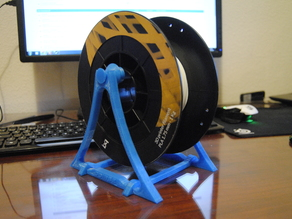Smart and simple filament Spool Holder (all printed version)