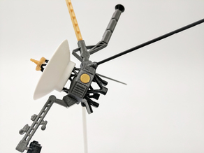 Voyager Satellite Desktop Model