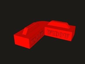 TEVO Black Widow - Mini Frame Base Stabilizer