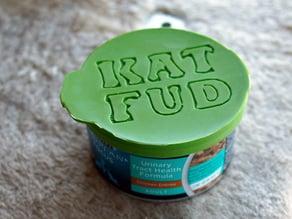 Cat Food Can Lid (smaller 3oz)