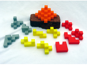 Three Construct Puzzles with Key