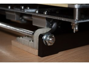 Angle bracket / front and back panel support for Anet A8