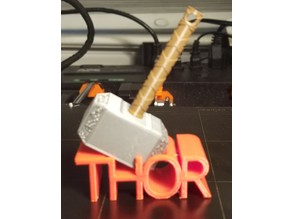 Thor base for Mjolnir