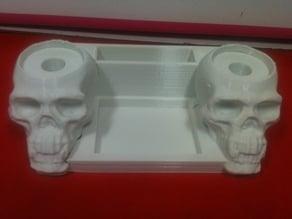 Skull  support RDA - Cotton - Coils