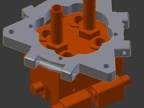 E3D Kraken Compatible Platform / Mount for RichRap's 3DR or Rostock type Delta Printers
